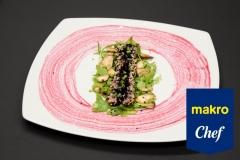 Atum Selado em redução de vinho do Porto com frutos vermelhos e vinagre balsâmico