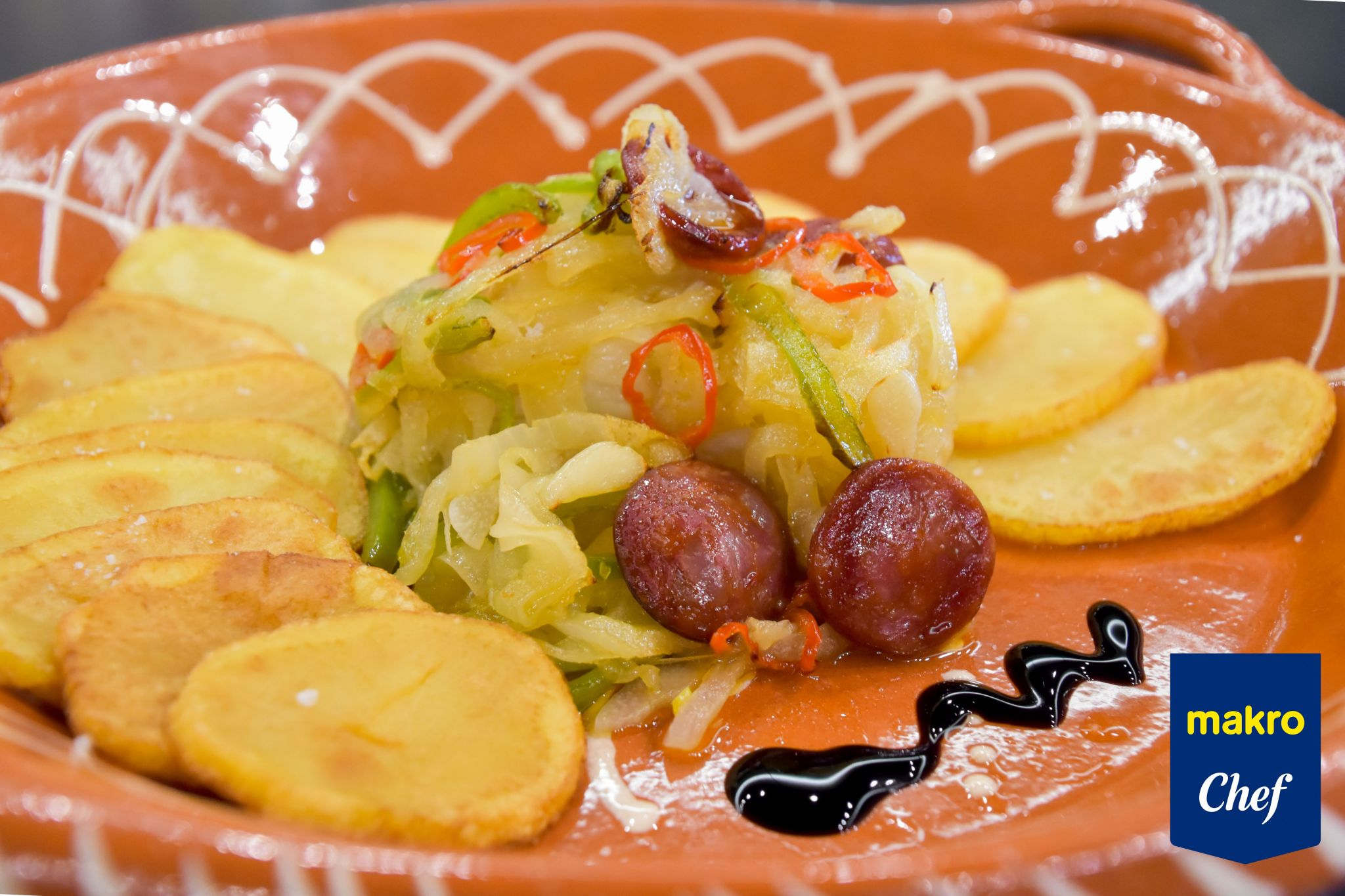 Desafio Bacalhau Makro Chef 2º Classificado